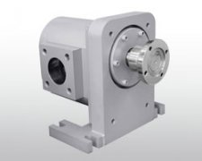 Extrusion gear pump work flow