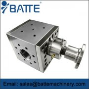 Cast steel melt pumps