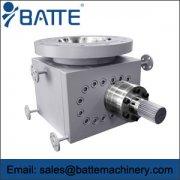Gear melt pump systems