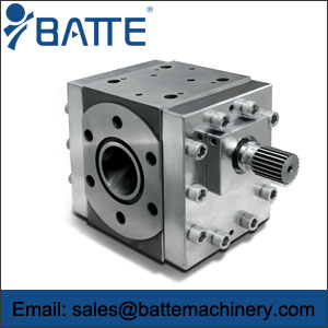extrusion gear melt pump
