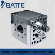 Elastomeric gear pump