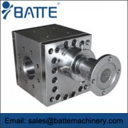 Extrusion melt pumps