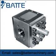 Rubber gear pump design