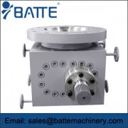 Chemical metering gear pump