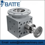 Reactor discharge gear pump