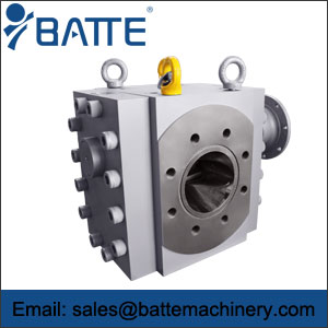 Extrusion gear pump
