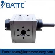 extrusion gear pump used in exceptional circumstances