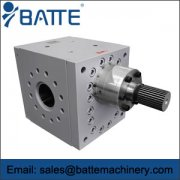 Use Batte extrusion gear pump benefits