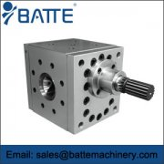 How to improve the extrusion gear pump NPSH efficiently?