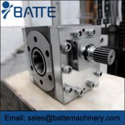 What are the early primary extrusion gear pump wear is the r