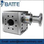 Characteristics of extrusion gear pump