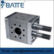 RS double shaft rubber pump