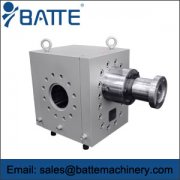 Application of Melt Booster Metering Gear Pump in Extrusion Line