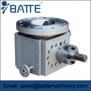 batte rubber melt pump